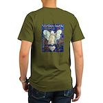 Blue & Gold Cancer An Organic Men's T-Shirt (dark)