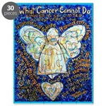 Blue & Gold Cancer Angel Puzzle