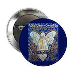 Blue & Gold Cancer Angel 2.25