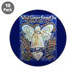 Blue & Gold Cancer Angel 3.5