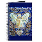 Blue & Gold Cancer Angel Journal