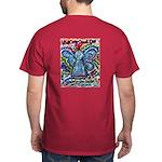 Colorful Cancer Angel Dark T-Shirt