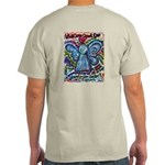Colorful Cancer Angel Light T-Shirt