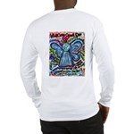 Colorful Cancer Angel Long Sleeve T-Shirt
