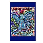 Colorful Cancer Angel Postcards (Package of 8)