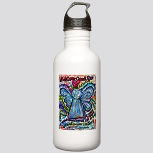 Colorful Cancer Angel Stainless Water Bottle 1.0L