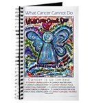 Colorful Cancer Angel Journal