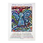 Colorful Cancer Angel 5'x7'Area Rug