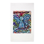 Colorful Cancer Angel 3'x5' Area Rug