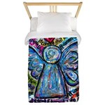 Colorful Cancer Angel Twin Duvet