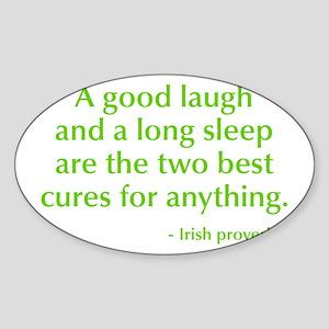 good-laugh-opt-green Sticker