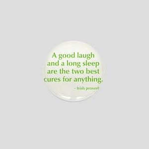 good-laugh-opt-green Mini Button