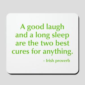 good-laugh-opt-green Mousepad