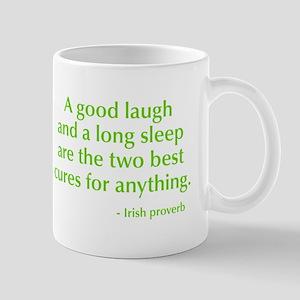 good-laugh-opt-green Mug