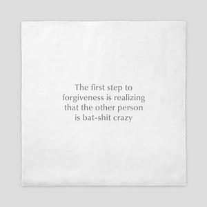 first-step-to-forgiveness-opt-gray Queen Duvet