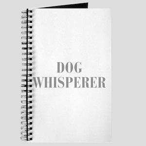 dog-whisperer-bod-gray Journal