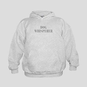 dog-whisperer-bod-gray Hoodie