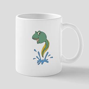 Cute Leaping Tadpole Mug