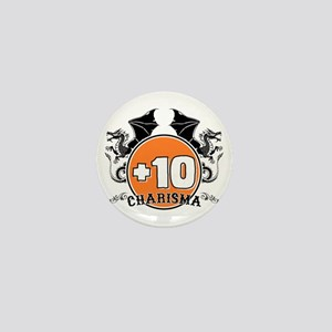 +10 to Charisma Mini Button
