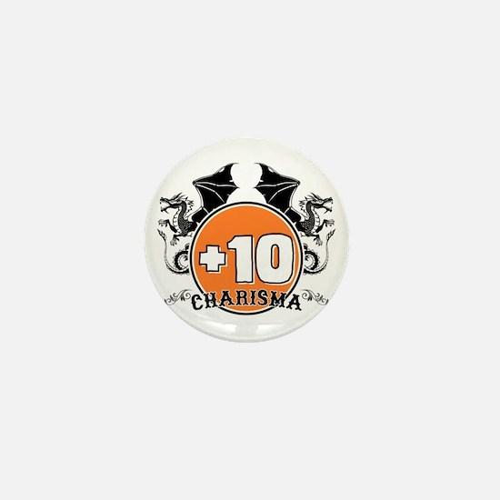 +10 to Charisma Mini Button