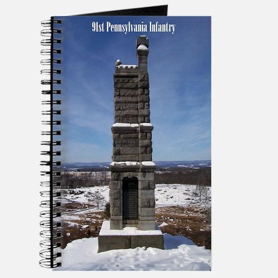 91st Pennsylvania Infantry Journal