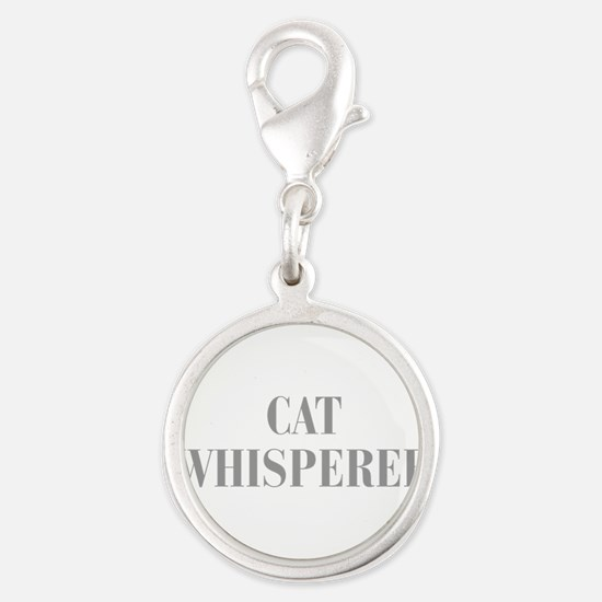 cat-whisperer-bod-gray Charms