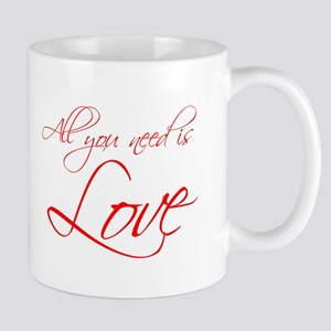all-you-need-is-love-scr-red Mug