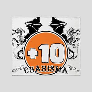+10 to Charisma Throw Blanket