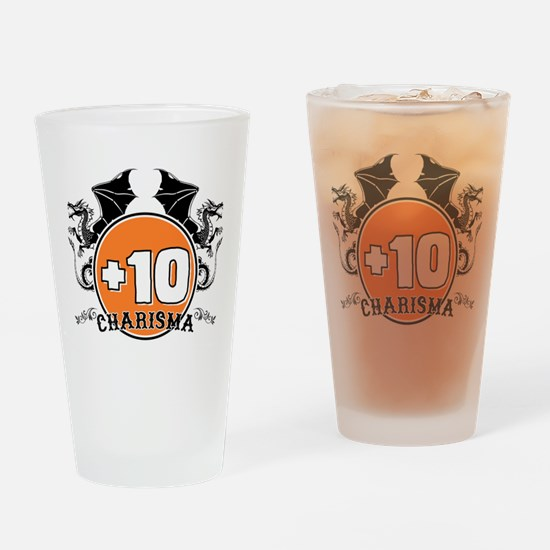 +10 to Charisma Drinking Glass