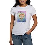 Rainbow Heart Cancer Women's T-Shirt