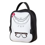 Nerdy Necklaces Neoprene Lunch Bag