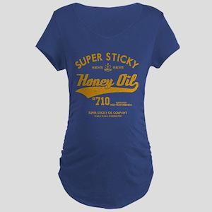 Super Sticky Honey Oil Maternity T-Shirt
