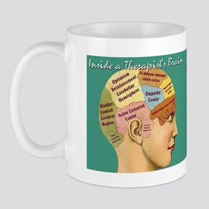 Inside a Therapist's Mind Mug design Mug
