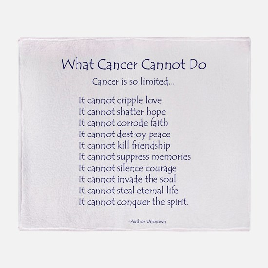 What Cancer Cannot Do Inspirational Cancer Poem Th