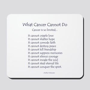What Cancer Cannot Do Inspirational Cancer Poem Mo