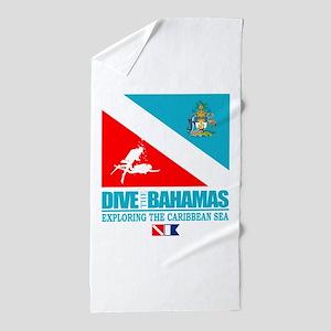 Dive Bahamas Beach Towel