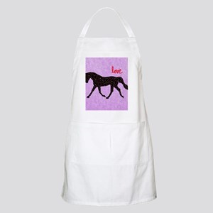 Horse Love and Hearts Apron