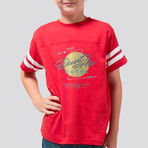 DESERT AIR HOTEL PALM SPRINGS Youth Football Shirt