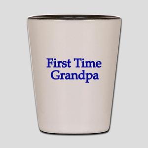 First Time Grandpa Shot Glass