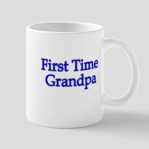 First Time Grandpa Mug