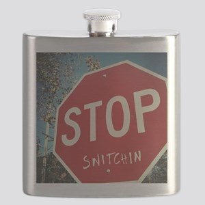 Stop Snitchin Flask