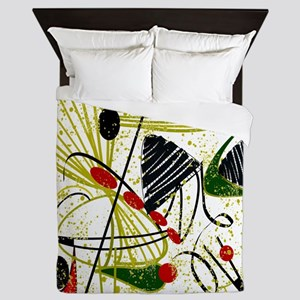 Eames Atomic Inspired Queen Duvet