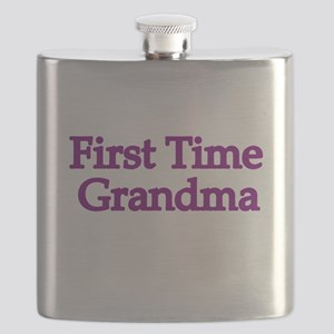 First Time Grandma 2 Flask