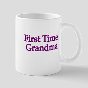 First Time Grandma 2 Mug
