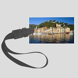 Portofino, Italy Large Luggage Tag
