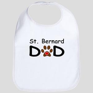 St. Bernard Dad Bib