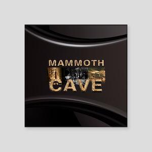 "ABH Mammoth Cave Square Sticker 3"" x 3"""