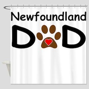 Newfoundland Dad Shower Curtain