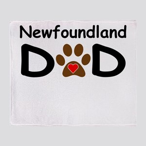 Newfoundland Dad Throw Blanket