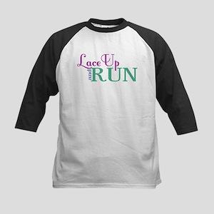 Lace Up and Run Baseball Jersey